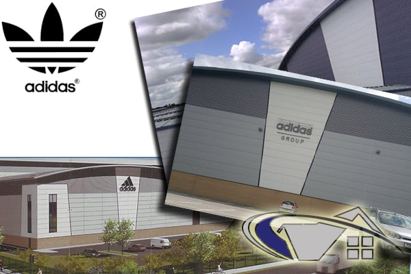 Adidas roofing contract