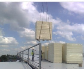 A flat roofing project at Manor High York