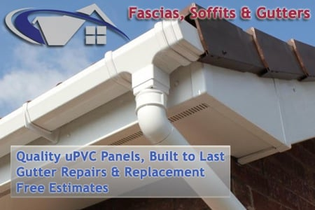 Facias, Soffits and Gutters