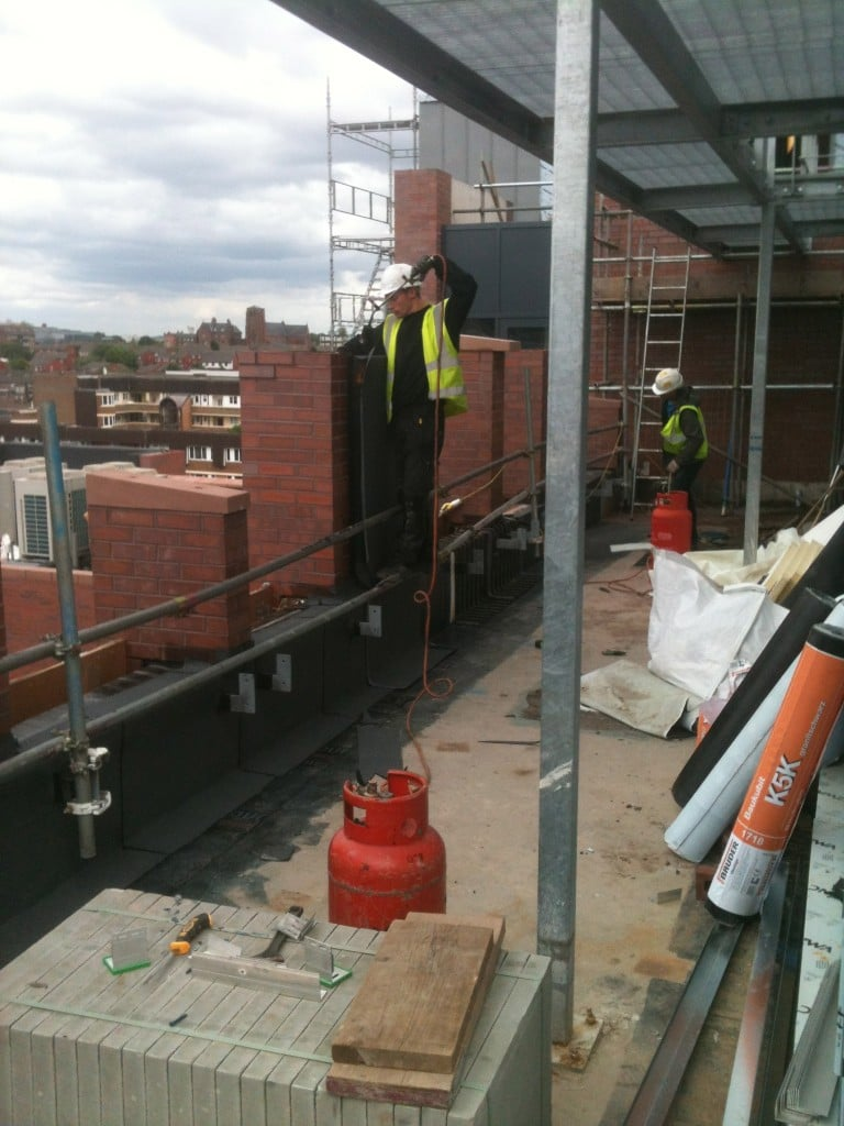 Industrial Roof Work : Gallery stewart sons domestic commercial roofing