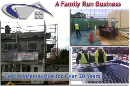 family run roofing business serving Liverpool