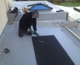 Preparation for a roof lantern