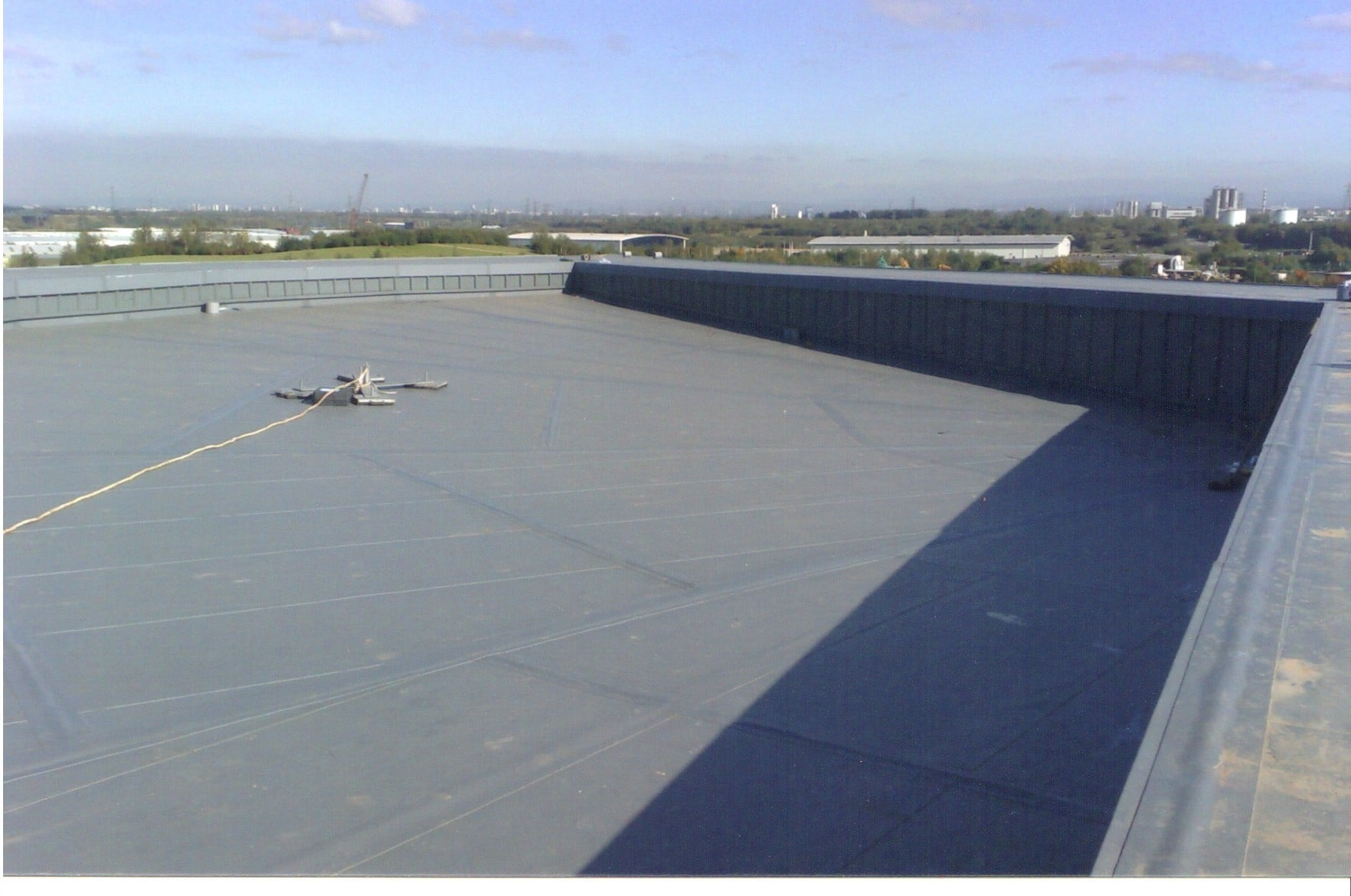 Flat Roof Warehouse : Roofing gallery stewart sons