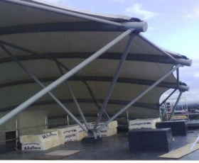 Bespoke roof design for a large commercial project at Adidas